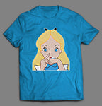 ALICE IN NOSE CANDYLAND SHIRT