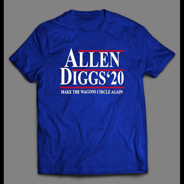 ALLEN AND DIGGS 2020 POLITICAL PARODY FOOTBALL SHIRT