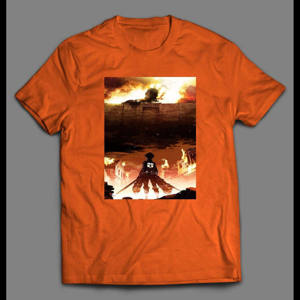 ATTACK ON TITAN POSTER ART HIGH QUALITY ANIME SHIRT