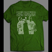 THE BASH BROTHERS MARK MCGWIRE & JOSE CANSECO BASEBALL INSPIRED SHIRT - Old Skool Shirts