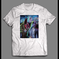 BEETLEJUICE MOVIE FARMERS PAINTING PARODY HALLOWEEN SHIRT