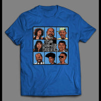 FRESH PRINCE OF BEL-AIR/ BRADY BUNCH STYLE PARODY SHIRT