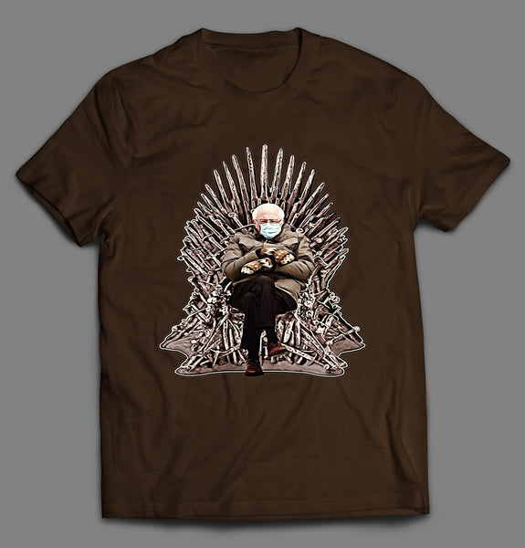 THRONE OF BERNIE MITTENS INAUGURATION 2021 SHIRT