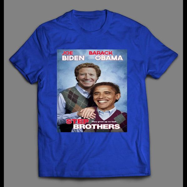 JOE BIDEN & BARACK OBAMA NOT JUST FRIENDS, BROTHERS PARODY SHIRT