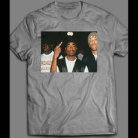 OLD SKOOL RAPPERS BIGGIE, TUPAC, REDMAN HIP HOP SHIRT - Old Skool Shirts