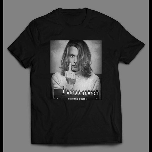 GEORGE JUNG MUGSHOT BLOW MOVIE SHIRT