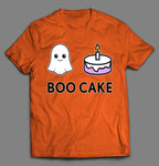 BOO CAKE TRIPLE X ADULT HUMOR SHIRT