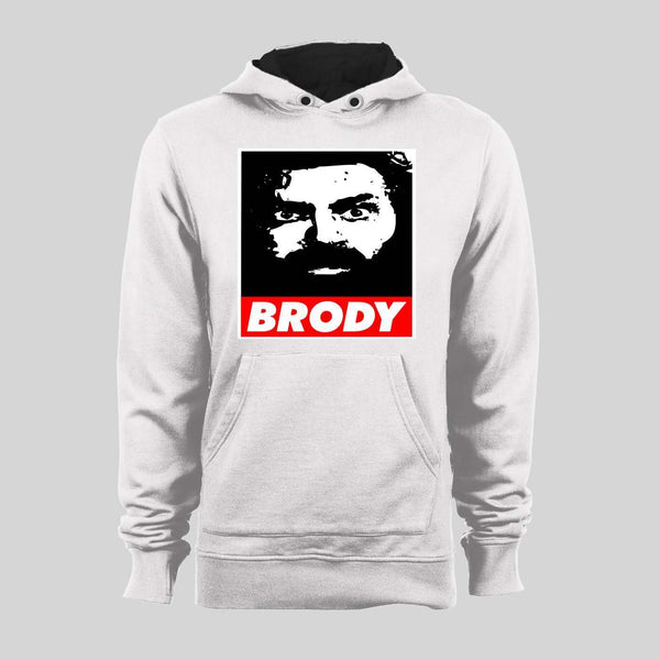 PRO WRESTLER BRUISER BRODY OBEY STYLE WINTER HOODIE OR SWEATER - Old Skool Shirts