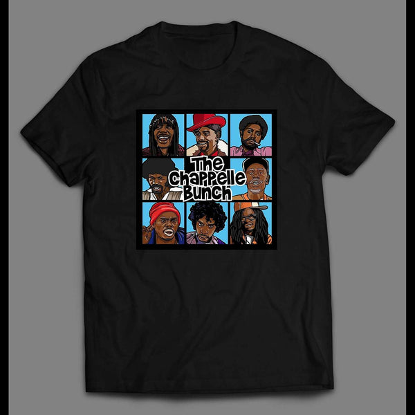 THE CHAPPELLE BUNCH COMEDY CENTRAL ART SHIRT