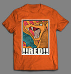 POKE MONSTER DRAGON CARTOON PARODY SHIRT