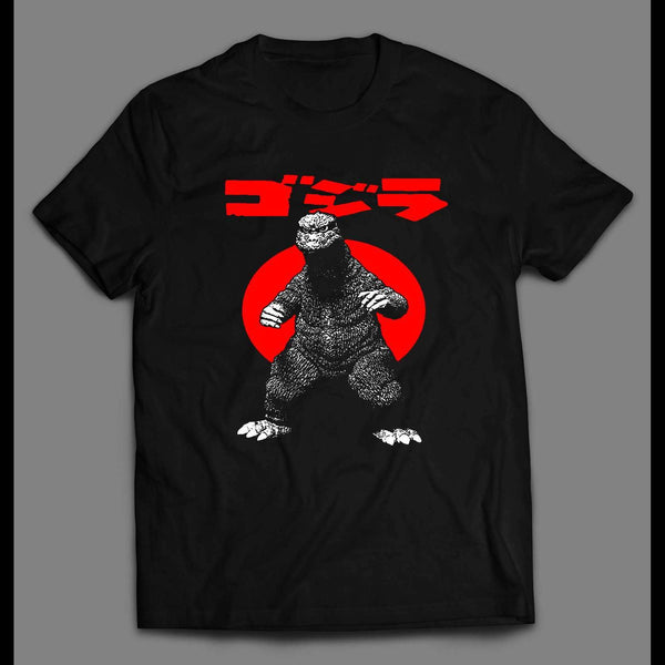 CLASSIC 1965 GODZILLA MOVIE OLDSKOOL CUSTOM SHIRT - Old Skool Shirts
