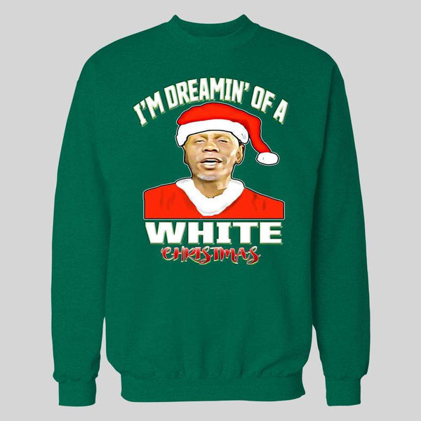 DAVE CHAPPELLE CLAYTON BIGSBY DREAMIN' OF A WHITE CHRISTMAS HOLIDAY HOODIE / SWEATSHIRT