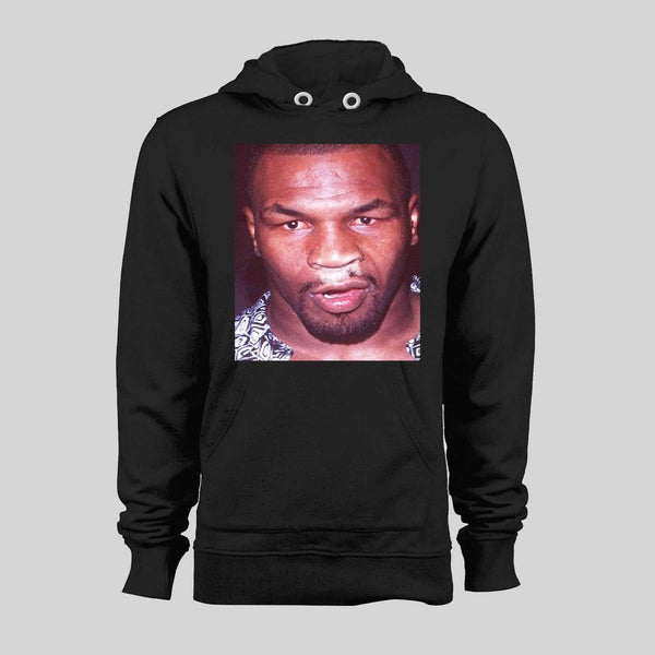 COKED UP MIKE TYSON VINTAGE PARTYING PHOTO HIGH QUALITY HOODIE / SWEATSHIRT