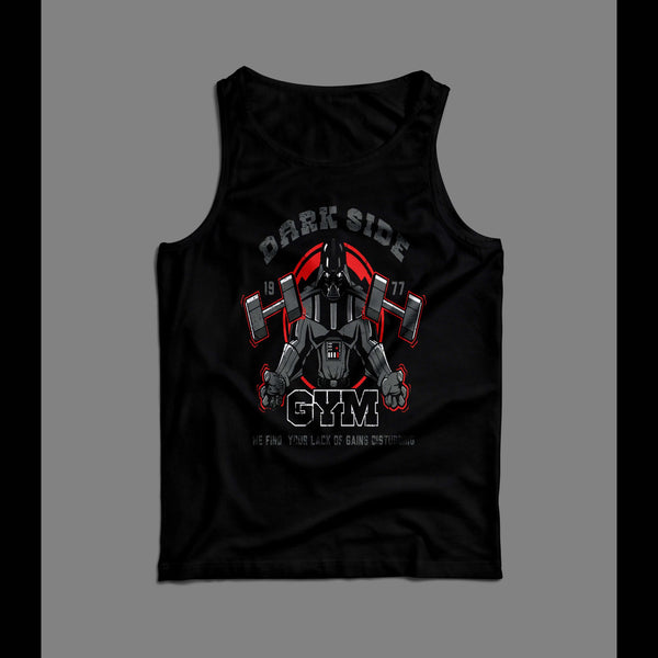 DARTH VADER DARK SIDE GYM CUSTOM TANK TOP
