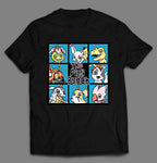 THE DIGI BUNCH ANIME PARODY SHIRT