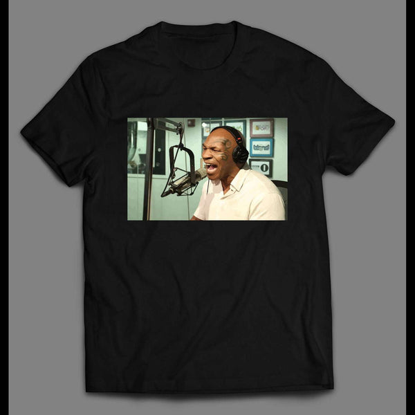 DJ MIKE TYSON VINTAGE PARTY PHOTO SHIRT