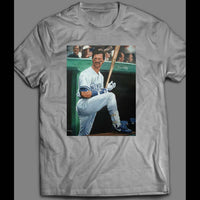 NEW YORK'S DON MATTINGLY ON DECK BASEBALL SHIRT - Old Skool Shirts