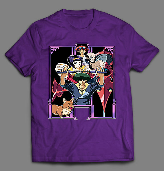 ENTER THE BEBOP ANIME MANGA PARODY SHIRT