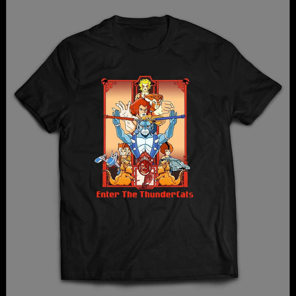 ENTER THE THUNDERCATS MOVIE DESIGN SHIRT - Old Skool Shirts