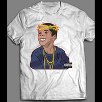 RAPPER FLYGOD ALBUM COVER ART SHIRT - Old Skool Shirts