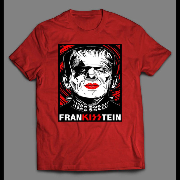 FRANKISSTEIN HEAVY METAL MASHUP HIGH QUALITY SHIRT