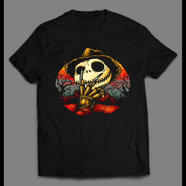 JACK SKELLINGTON X FREDDY KREUGER HALLOWEEN SHIRT