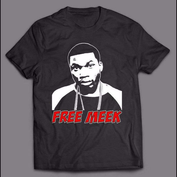 "HIP HOP ""FREE MEEK"" RAPPER MEEK MILLS SHIRT - Old Skool Shirts"