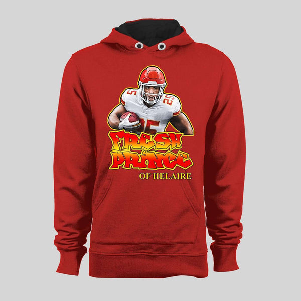 THE FRESH PRINCE OF HELAIRE HIGH QUALITY FOOTBALL HOODIE / SWEATER