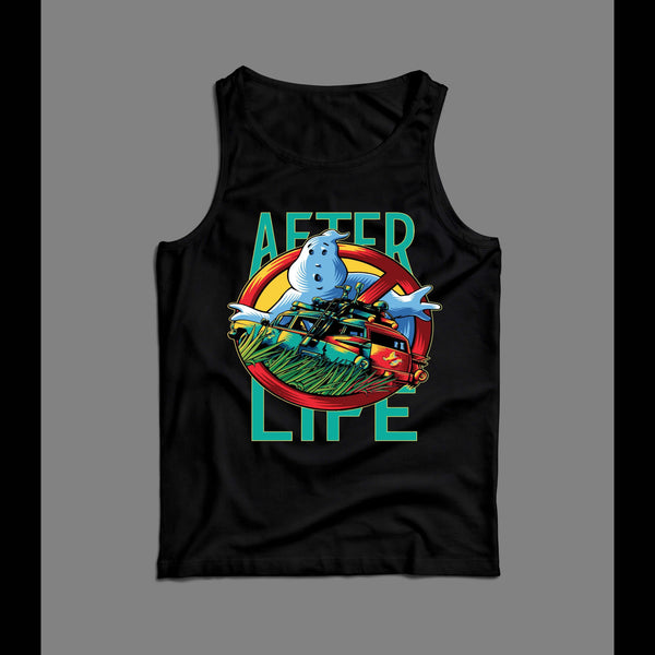 GHOSTBUSTERS AFTER LIFE HALLOWEEN MOVIE MEN'S TANK TOP