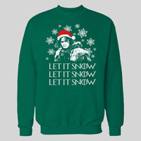 G.O.T LET IT SNOW MOVIE CHRISTMAS HOODIE /SWEATER - Old Skool Shirts