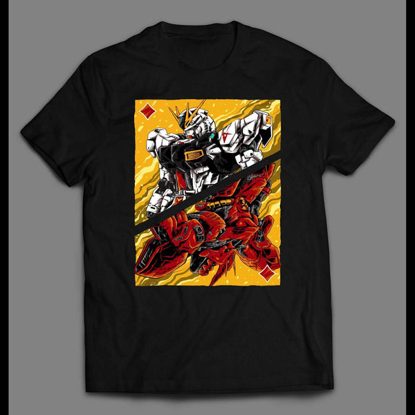 JAPANESE ANIME GUNDAM SPLIT HIGH QUALITY SHIRT