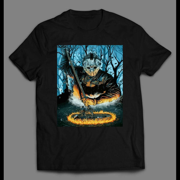 FRIDAY THE 13TH CRYSTAL LAKE HELL HALLOWEEN SHIRT
