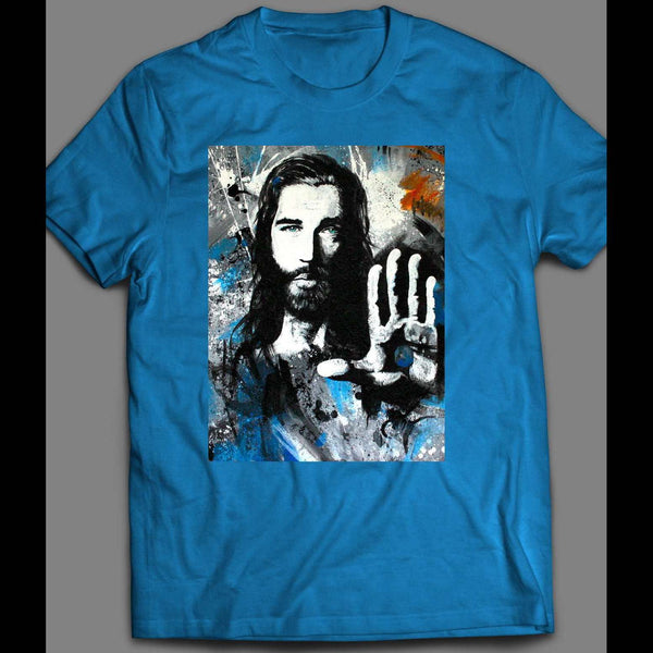 JESUS IS LORD PAINTING T-SHIRT MANY COLORS AND SIZES