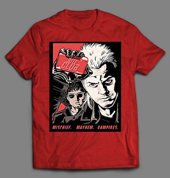 VAMPIRE BITE CLUB MOVIE MASHUP HALLOWEEN SHIRT