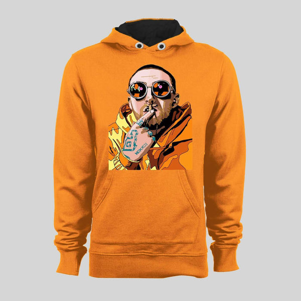 ORANGE JUMPSUIT MAC MILLER ART HIGH QUALITY HOODIE / SWEATER