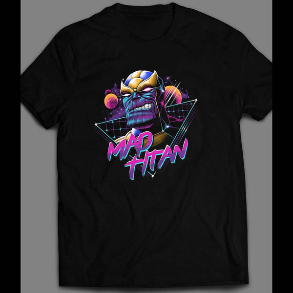 VINTAGE 80 DESIGN THANO MAD TITAN SHIRT - Old Skool Shirts