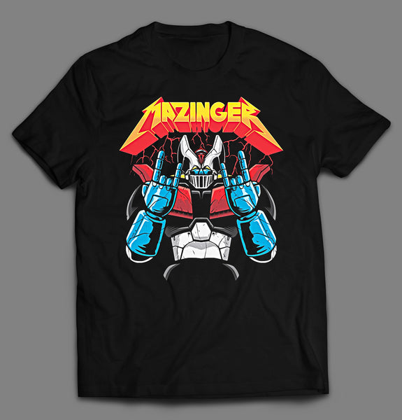 ANIME BLAST THEM ALL HEAVY METAL MASHUP SHIRT