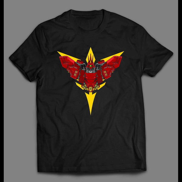 SAMURAI MECH WARRIOR HIGH QUALITY SHIRT - Old Skool Shirts