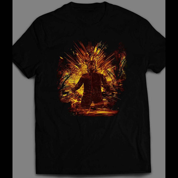 HALLOWEEN STORM MICHAEL MYERS KILLER ART HALLOWEEN SHIRT - Old Skool Shirts