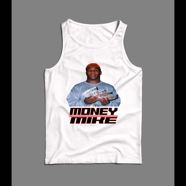 VINTAGE MIKE TYSON MONEY MIKE WORK OUT TANK TOP