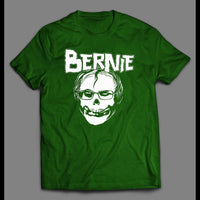 BERNIE SANDERS MISFIT ULTRA RARE ROCK BAND INSPIRED SHIRT - Old Skool Shirts