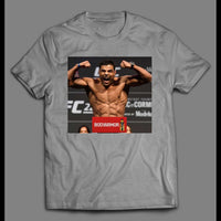 MMA FIGHTER FLEXING HIGH QUALITY SHIRT
