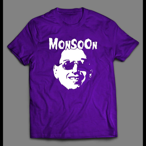 GORILLA MONSOON MISFIT ULTRA RARE ROCK BAND INSPIRED WRESTLING SHIRT - Old Skool Shirts