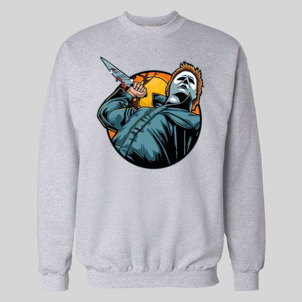 MICHAEL MYERS KILL UNDER THE MOON HALLOWEEN HOODIE / SWEATER