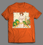 RANCHY SEXY NAKED APRIL INSPIRED CARTOON PARODY SHIRT