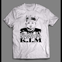 THE NOTORIOUS KIM JONG-UN RAPPER PARODY HIGH QUALITY SHIRT