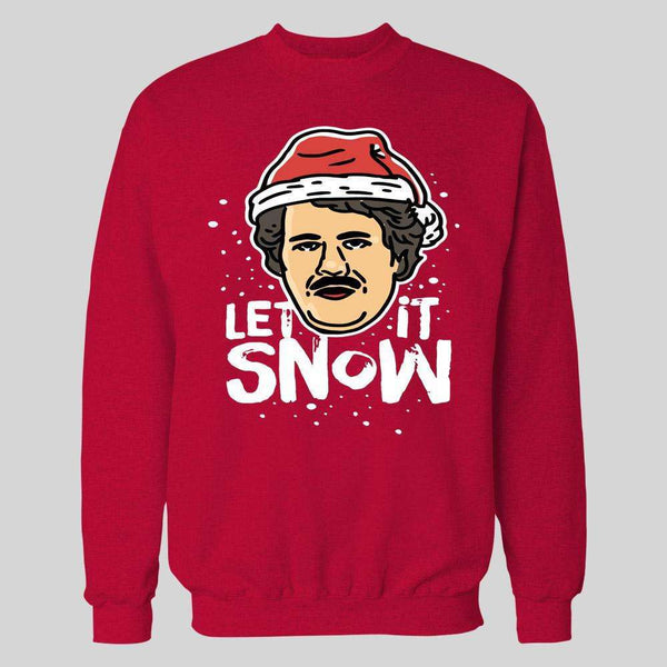 SANTA PABLO ESCOBAR LET IT SNOW CHRISTMAS HOODIE /SWEATSHIRT