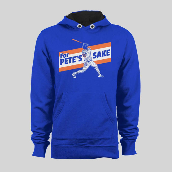 NEW YORK'S PETE ALONSO #20 FOR PETE'S SAKE BASEBALL SWEATER / HOODIE