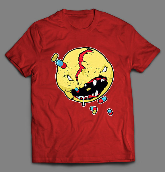 PILL EATING MONSTER SHIRT