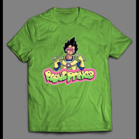 DRAGONBALL Z INSPIRED PROUD PRINCE FRESH PRINCE PARODY HIGH QUALITY SHIRT